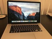 "15"" MacBook Pro Retina, 16GB - Excellent condition Bonogin Gold Coast South Preview"