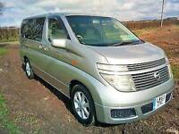 2003 Nissan Elgrand Camper Van Fresh Import New Conversion Just 42000 Miles Motorhome like VW T5