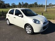 2011 Nissan Micra K13 ST White 5 Speed Manual Hatchback West Gosford Gosford Area Preview