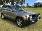 2005 Jeep Grand Cherokee WH MY2006 Limited Gold 5 Speed Automatic Wagon East Rockingham Rockingham Area Preview