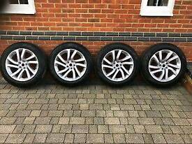 "20"" Brand New Genuine Dogleg 511 Alloys with Pirelli tyres land rover discovery range sport px swap"