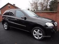2007 mercedes ml 280 edition s{fsh,93k,just serviced,finance ava,12 months warranty included}
