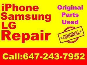 iPhone 6 Screen Repair $40 , iPhone Screen 7  $90, Samsung screen Repair, Charging Port ..We beat any price in GTA!!