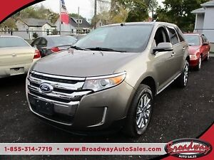 2014 Ford Edge LOADED LIMITED EDITION 5 PASSENGER 3.5L - V6.. AW