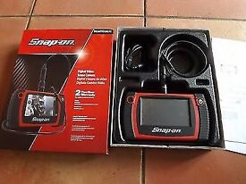 Snap on bore scope, inspection camera