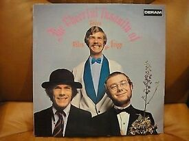 GILES, GILES AND FRIPP (King Crimson) - Cheerful Insanity Of - 1st UK Mono Deram 1968