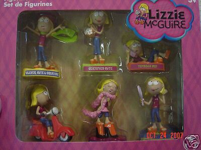 DISNEY STORE LIZZIE MCGUIRE FIGURINE SET-NEW