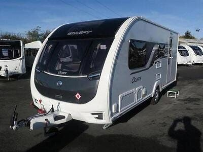 2017 SWIFT CELESTE 530 TOURING CARAVAN - 4 BIRTH SINGLE AXLE. Immaculate Condition, only used twice.