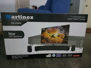 7.1channel martinez loud speakers Camira Ipswich City Preview