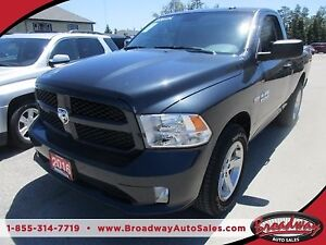 2016 Dodge Ram 1500 WORK READY TRADESMAN EDITION 3 PASSENGER 5.7