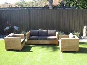 3 piece setting, 2 single chairs + 3 seater lounge Woodlands Stirling Area Preview