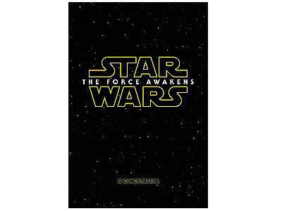 Das Star Wars: Das Erwachen der Macht – Filmposter