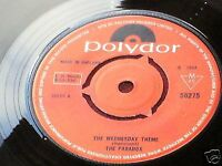 Ring The Changes / Wednesday Theme by The PARADOX - Polydor 1968 - Very Rare Mod / Northern Soul 45