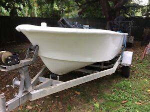 5 meter Fiberglass boat Stratford Wellington Area Preview