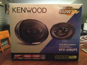 "Kenwood KFC-6984PS 6""x9"" Car Speakers"