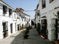 18th century converted convent in white washed Andalusian village - JIMENA de la FRONTERA