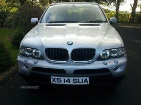 2006 bmw x5 in very good condition, as new tyres, FSH, lady owner.