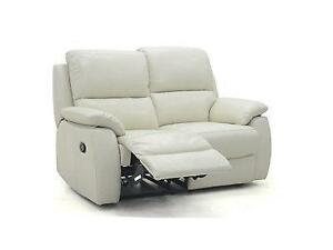 Real Leather Sofa Ebay