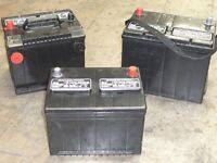 Top prices paid, Wanted old truck or car batteries.