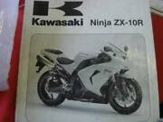 KAWASAKI  ZX-10R FACTORY WORKSHOP  SERVICE MANUAL c2006 Dianella Stirling Area Preview