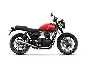 2019 Triumph Street Twin Korosi Red