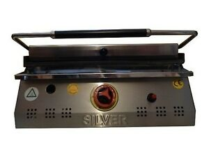 CONTACT GRILL GAS Lpg LP Sandwich PANINI Toaster Griddle OVEN 40