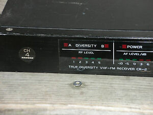 Samson concert TD series DBX noise reduction Receiver CR2