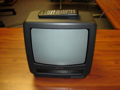 Hitachi 14 inch CRT TV Video player combi