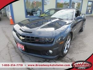 2013 Chevrolet Camaro LOADED SS - COUPE EDITION 4 PASSENGER 6.2L