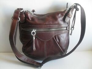 BNWT FOSSIL leather crossbody bag