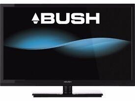 "Bush 40"" inch LCD TV HD Ready 1080p Built-in Freeview 3 x HDMI"