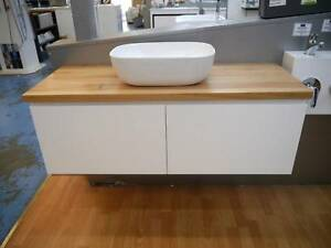 New 1200 Castano Wall Hung Bathroom Vanity Timber Top Basin Deal Melbourne CBD Melbourne City Preview