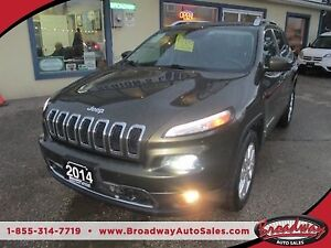 2014 Jeep Cherokee LOADED LIMITED EDITION 5 PASSENGER 2.4L - DOH