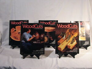 Five 90's woodworking magazines