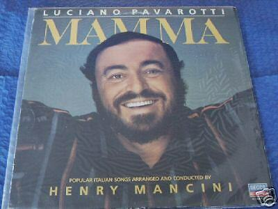 Luciano Pavarotti Mamma Popular Songs Henry Mancini Dec