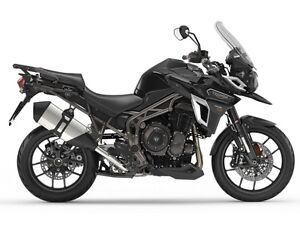 2017 Triumph Tiger Explorer XR Jet Black