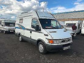 (11) 2000 IVECO DAILY (S2000) LWB HIGH ROOF CAMPER VAN MOTORHOME CONVERSION