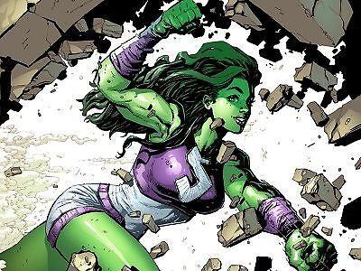 Anders als Hulk, behält sie ihre Persönlichkeit nach einer Verwandlung