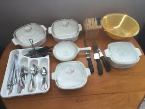 Cookware and Cutlery