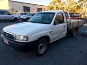 1999 Mazda Bravo B2600 DX White 5 Speed Manual Cab Chassis Underwood Logan Area Preview