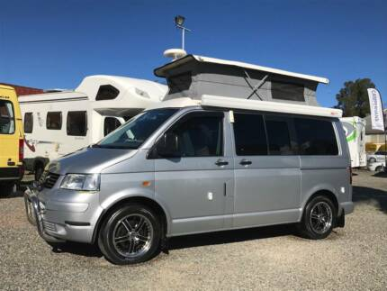2005 Volkswagen T5 Pop Top Campervan Valentine Lake Macquarie Area Preview