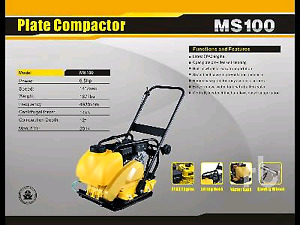 Ms100 plate compactor