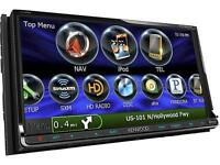 PIONEER KENWOOD JVC CLARION 2015 SINGLE & DOUBLE DIN NEW DECKS