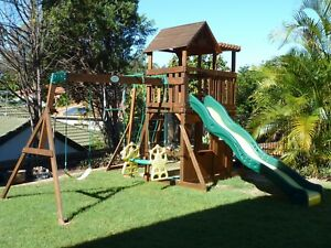 Backyard Discovery Thunder Ridge Climbing Frame & Fort Bridgeman Downs Brisbane North East Preview