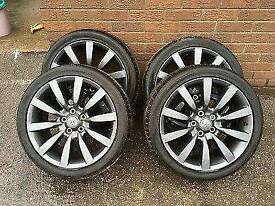 Gun Metal Grey Genuine ralli-art evo lancer alloys