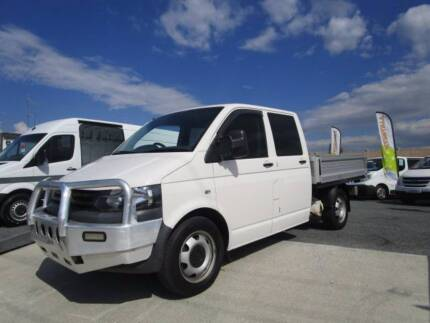 UTE VOLKSWAGEN TRANSPORTER  TT D/CAB LWB with Service History Currumbin Waters Gold Coast South Preview