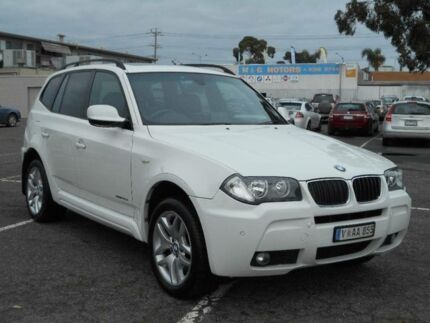 2010 BMW X3 E83 MY09 xDrive 20D Lifestyle White 6 Speed Auto Steptronic Wagon