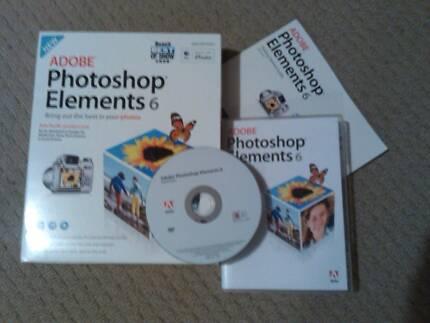 Adobe Elements 6 Mac plus tutorial book