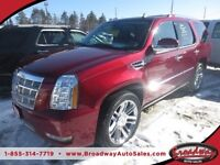 2010 Cadillac Escalade LOADED 'PLATINUM' MODEL 7 PASSENGER AWD..