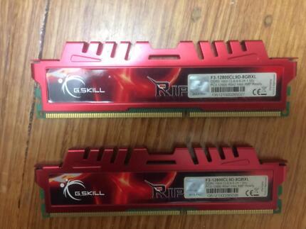G. Skill Rip Jaws X ddr3 1600 PC3 12800 4GBx 4 ( 16GB )